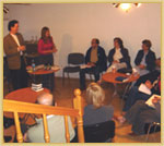 Presbyterian Church in Warsaw, Poland, while Ed taught the leaders there in September 2004.